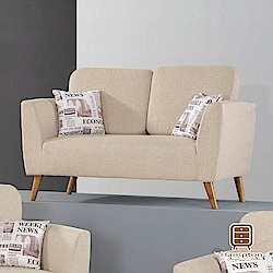 漢妮Hampton尤妮絲系列布面雙人沙發