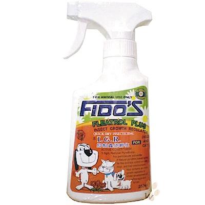 Fido's天然除蟲菊精 蚤蜱除噴劑 250ml 兩入組