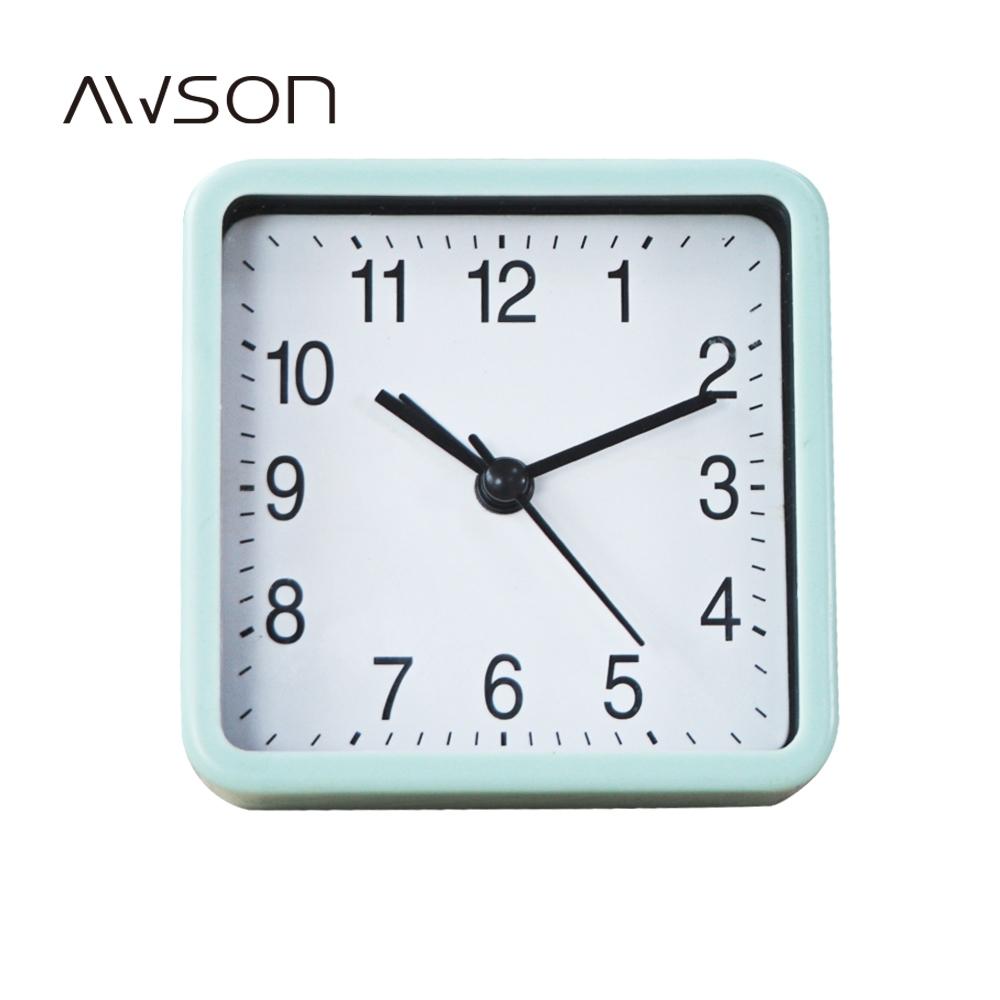 AWSON現代粉彩小鬧鐘(綠)AWK6003G