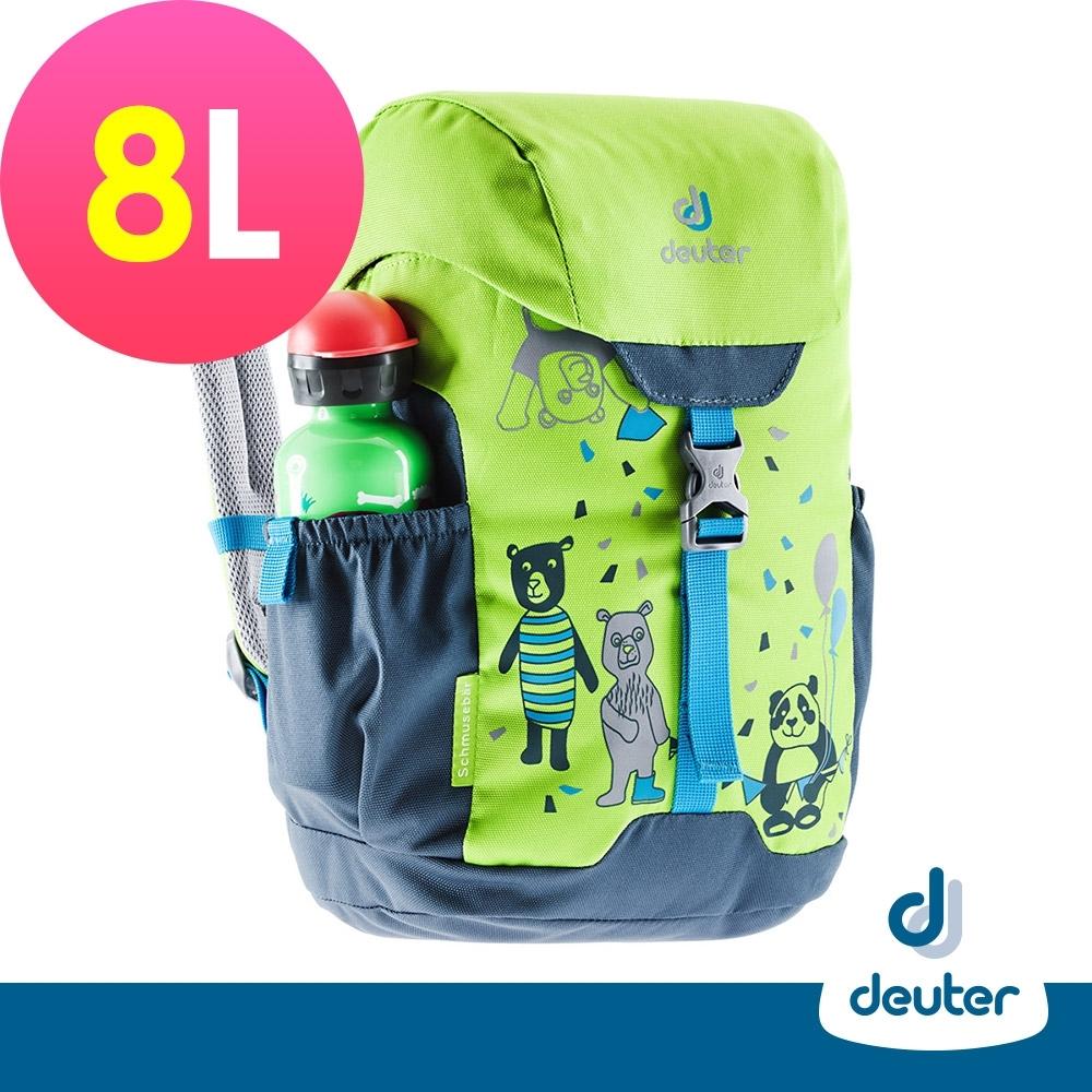 【deuter德國】SCHMUSEBAR 8L兒童背包/書包/旅遊包3612020草綠/藍
