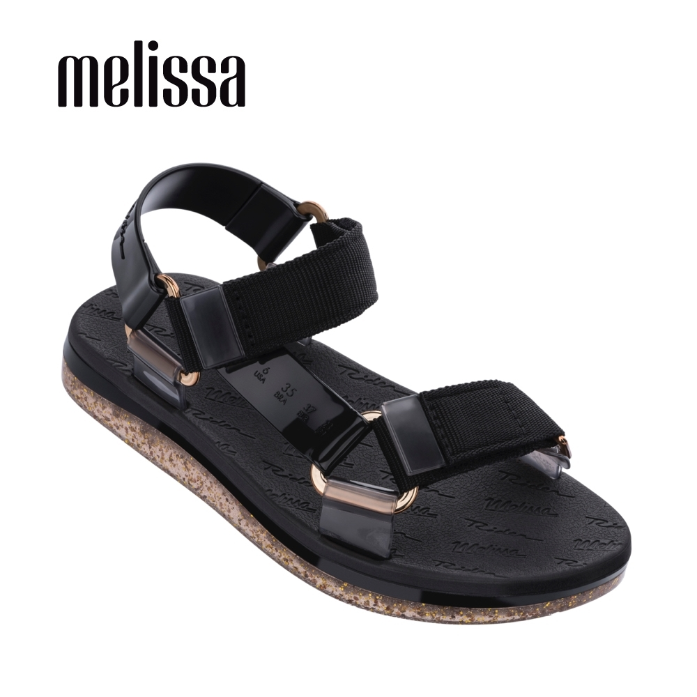 Melissa x Rider Good Time潮流休閒涼鞋-黑