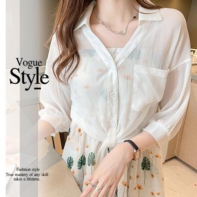 2F韓衣-翻領純色排扣縮袖口造型外套-3色(M-XL)