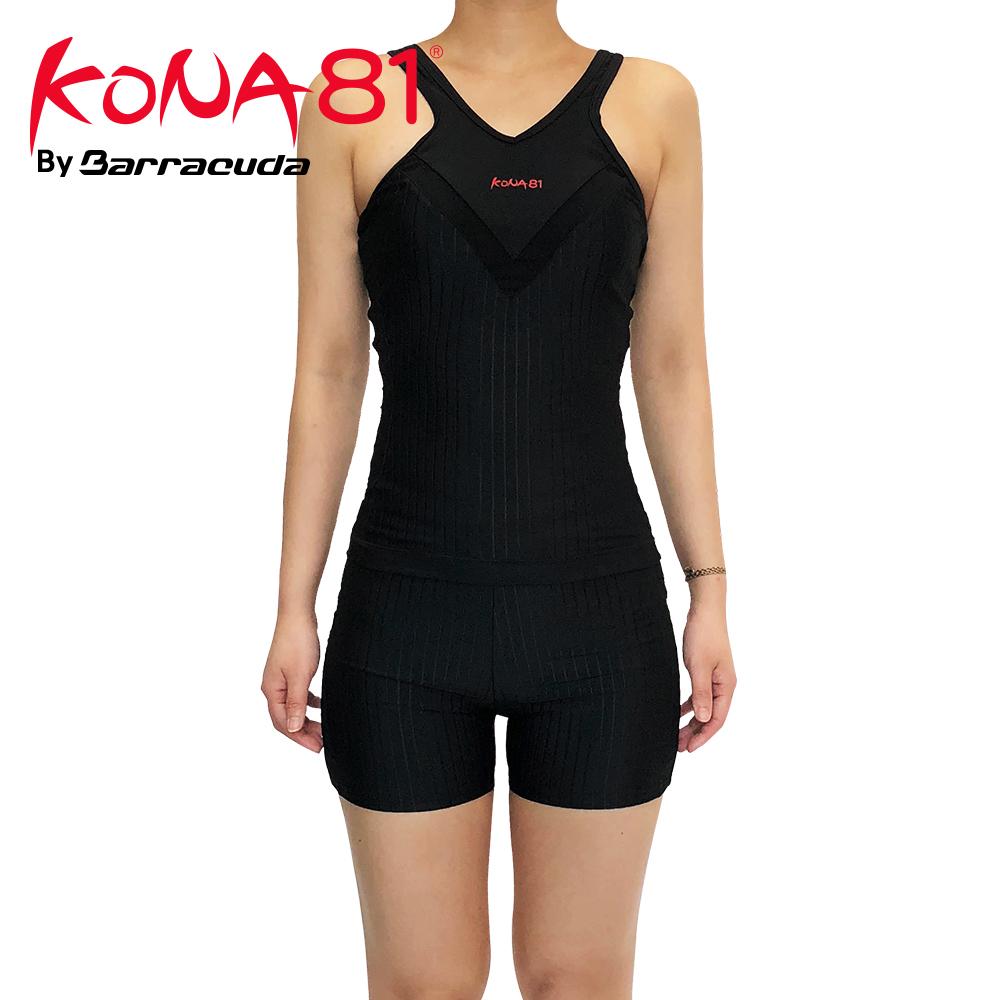 酷吶81 削肩抗UV長版兩件式四角泳裝 KONA81 ACTIVE05