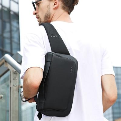 leaper 簡潔時尚休閒單肩包腰包 共3色