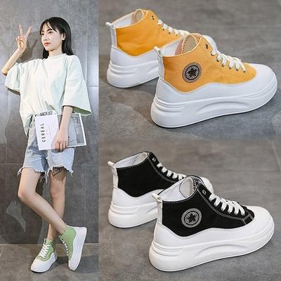 [韓國KW美鞋館]-(預購)獨家款隨性自在休閒厚底鞋