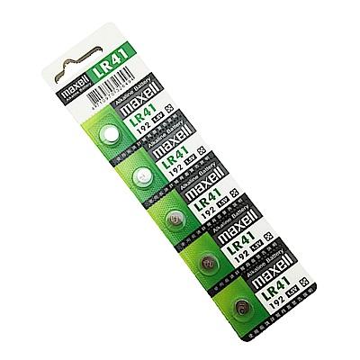 日本品牌 水銀電池 maxell LR43(二卡20入)