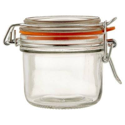 《Anchor》扣式玻璃密封罐(橘220ml)