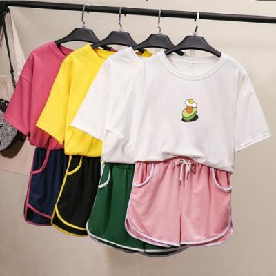【韓國K.W】(預購)韓時尚輕漾甜美套裝褲(共3色)