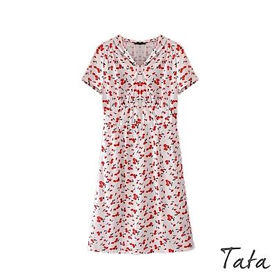 櫻桃印花洋裝 TATA