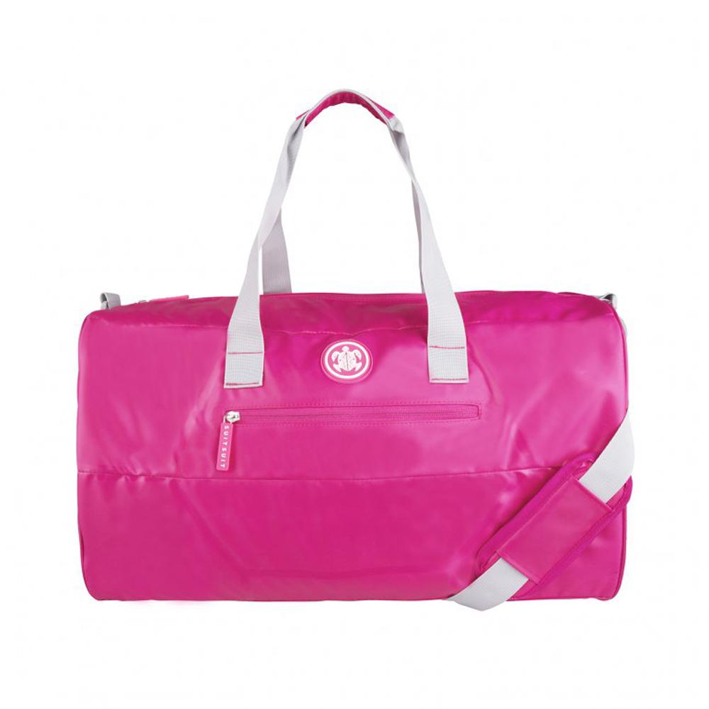 SUITSUIT Caretta 尼龍 週末旅行袋-桃紅
