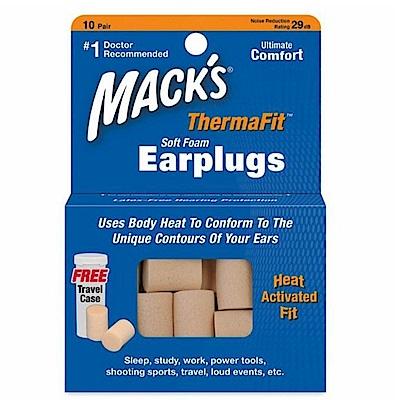 美國 Mack s PVC 耳塞 送收納盒