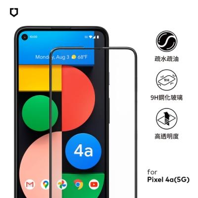 犀牛盾3D滿版玻璃保護貼-Google Pixel 4a(5G)-黑