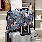 DF Queenin - 韓版大容量可折疊手提肩背旅行袋-共3色