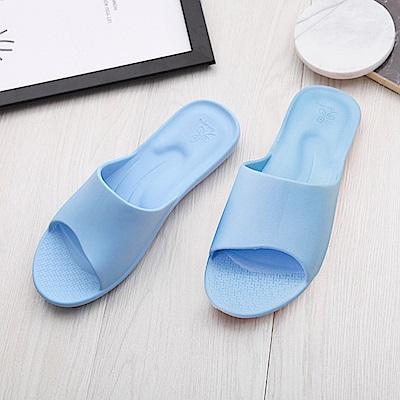 維諾妮卡 簡約機能室內拖鞋-藍