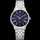 奧林比亞之星 Olympia Star 優雅晶漾弧線腕錶-藍  58087DBS
