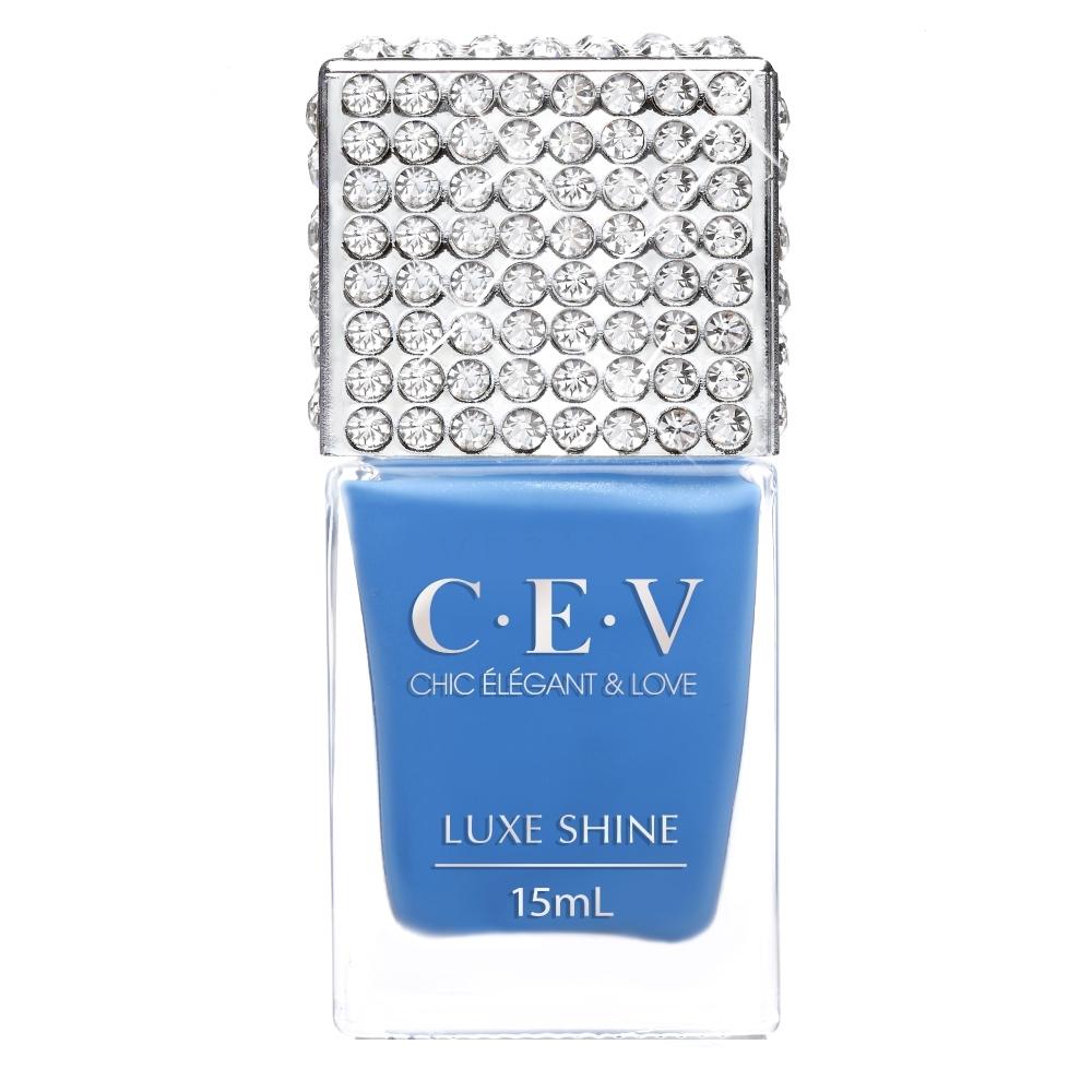 CEV超凝光感指甲油 #6985 藍色公路 (LUXE SHINE) (#6985)