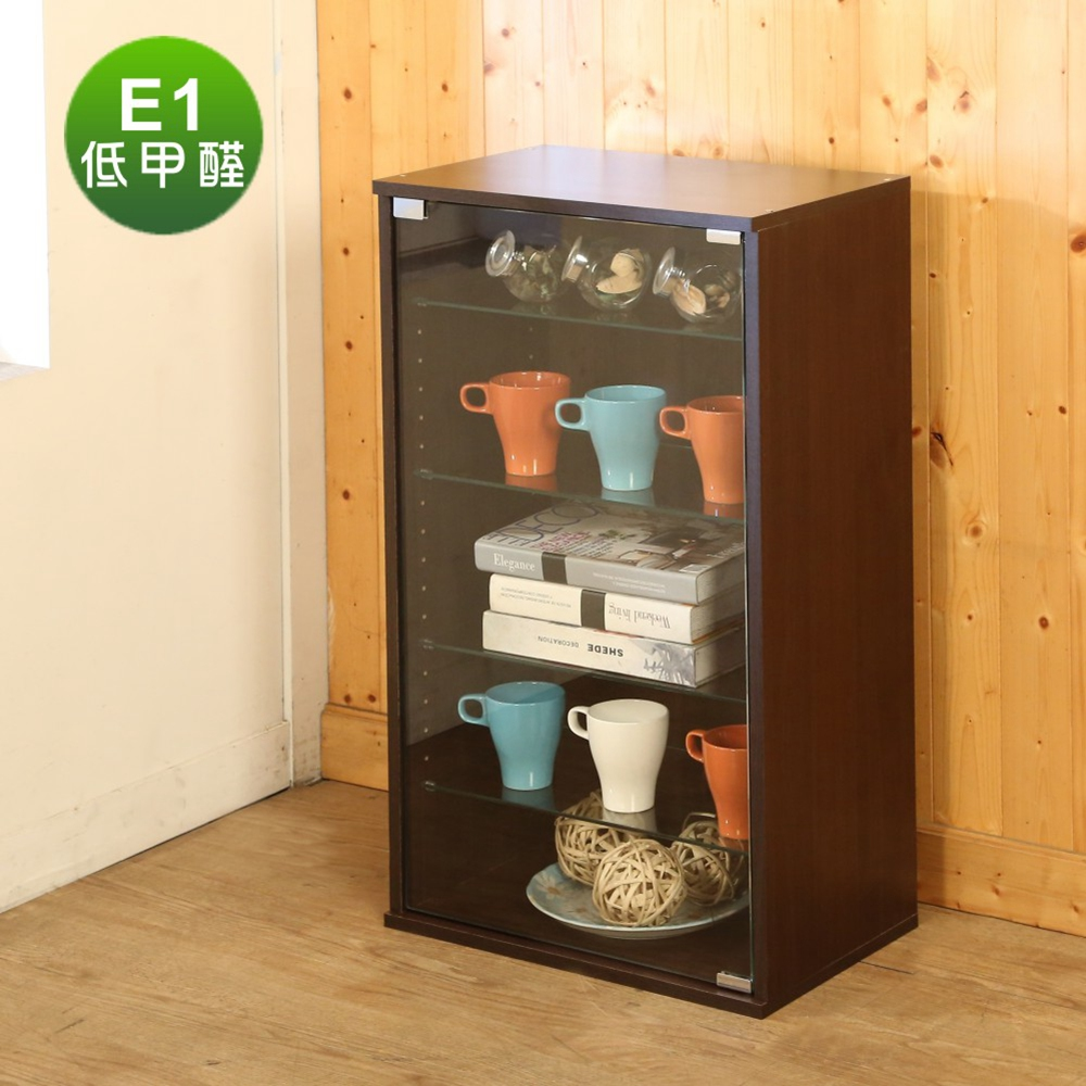 BuyJM低甲醛高83cm強化玻璃置物櫃/公仔櫃/展示櫃-DIY