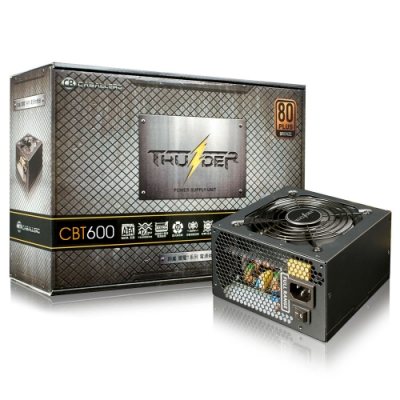 CB 雷電T系列80Plus銅牌 600W電源供應器