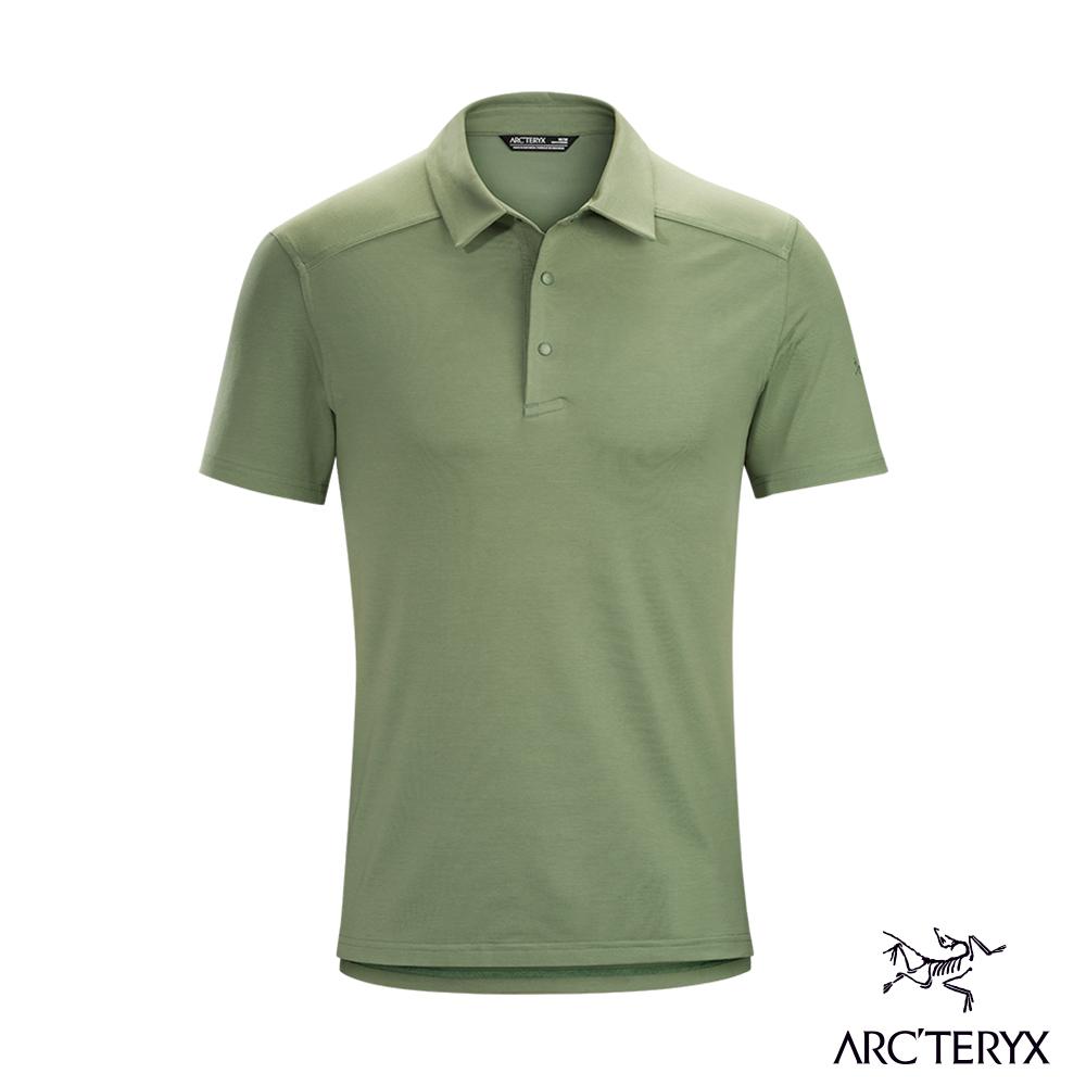 Arcteryx 始祖鳥 男 Chilco 輕量 快乾 短袖POLO衫 尤克利特綠