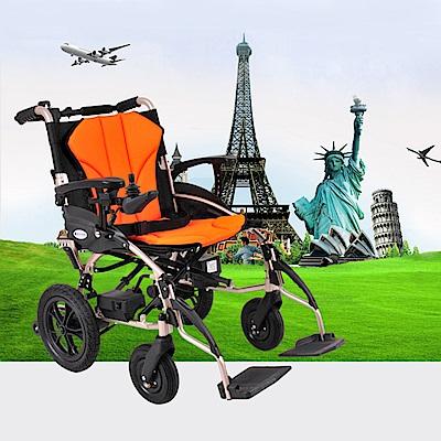 Suniwin 尚耘國際出國代步/折疊攜帶快拆雙鋰電池可上飛機電動輪椅W630/電動代步車