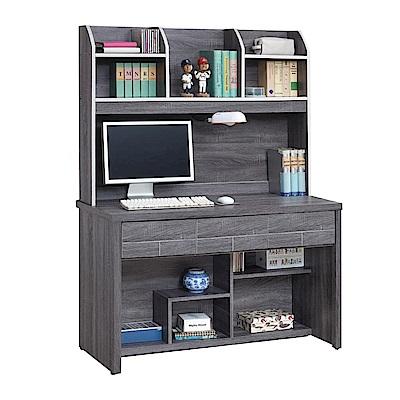 綠活居 奧達時尚4尺多功能書桌/電腦桌組合(上+下座)-121x58x166cm-免組