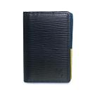 LV M67891 Epi patchwork 萬用名片夾(夜藍色)