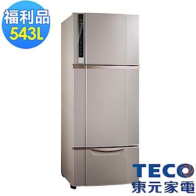 福利品 TECO 東元 543L變頻三門冰箱R5652VXSP