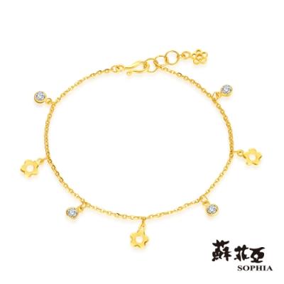 蘇菲亞SOPHIA - G LOVER系列花花世界之二黃金手鍊