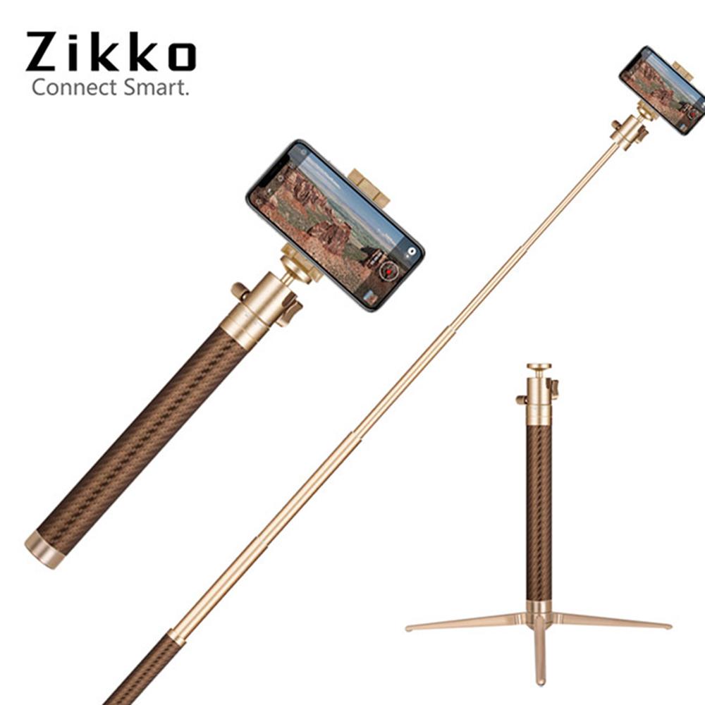 Zikko 360度鋁合金自拍棒腳架120cm