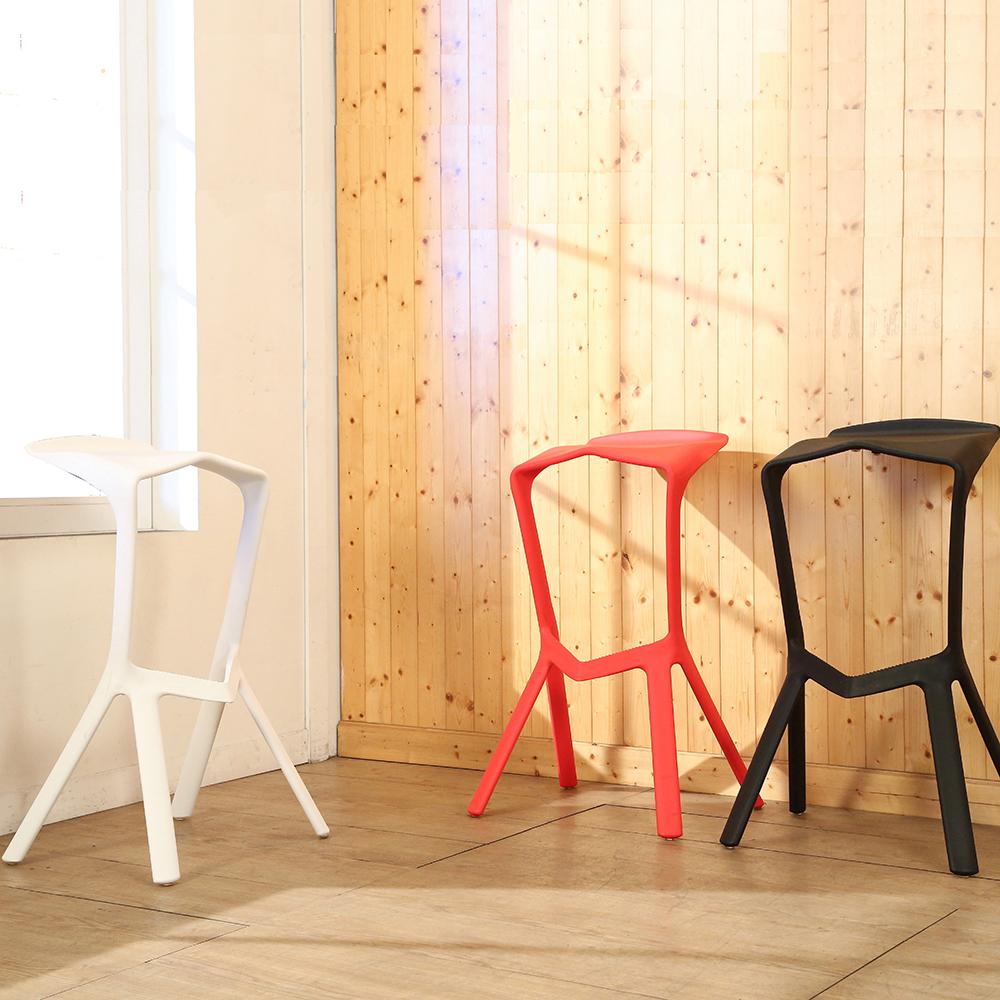 BuyJM美學幾何設計吧台椅/高腳椅休閒椅-免組