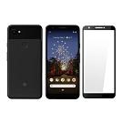 【MK馬克】Google Pixel 3a XL (6吋) 全滿版9H鋼化玻璃保護貼