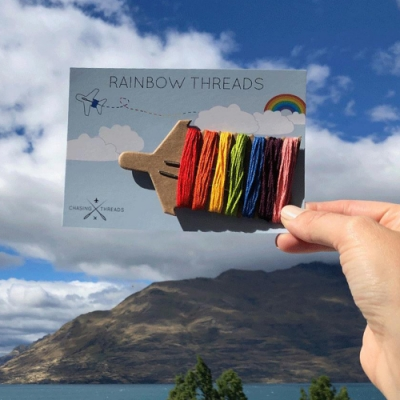 Chasing Threads 精彩旅程彩虹繡線