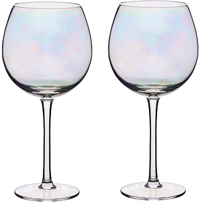 《KitchenCraft》圓肚紅酒杯2入(炫彩500ml)