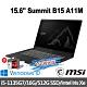 msi 微星 Summit B15 A11M-002TW 15.6吋商務筆電(i5-1135G7/16G/512G SSD/Intel Iris Xe/Win10Pro-16G特仕版) product thumbnail 1