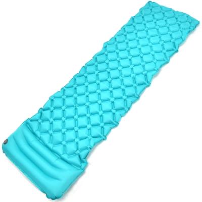 帶枕蛋巢式充氣睡墊(送收納袋) 蛋槽帳篷枕頭充氣墊