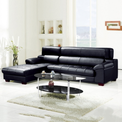 MUNA 凱西L型皮沙發(共兩方向) 258X171X87cm