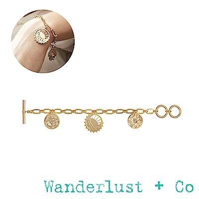Wanderlust+Co Wanderlust 宇宙手鍊 - 玫瑰金色