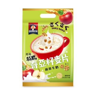 桂格 奇亞籽麥片系列-蘋果牛奶(29gx10包)