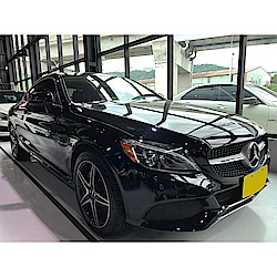 16/17 Mercedes-Benz C300 AMG Coupe(外匯車)