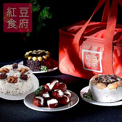 紅豆食府 招牌甜品四喜禮盒x2組