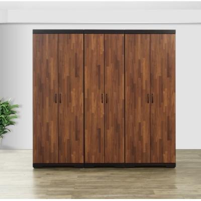 MUNA 艾曼7X7尺雙吊衣櫥(共兩色)  210X55X203cm