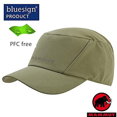 長毛象 新款 Pokiok Cap 輕量防風透氣棒球帽_橄欖綠