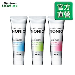 日本獅王LION NONIO終結口氣牙膏130g