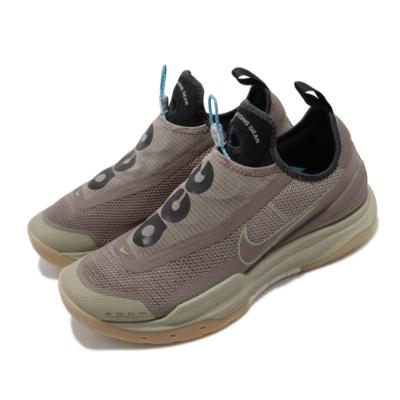 Nike 休閒鞋 ACG Zoom Air AO 男鞋 戶外 機能 舒適 簡約 襪套 穿搭 棕 卡其 CT2898201