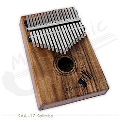 NAMAS 卡林巴 17音全單版相思木 拇指琴(KAA-17)KALIMBA