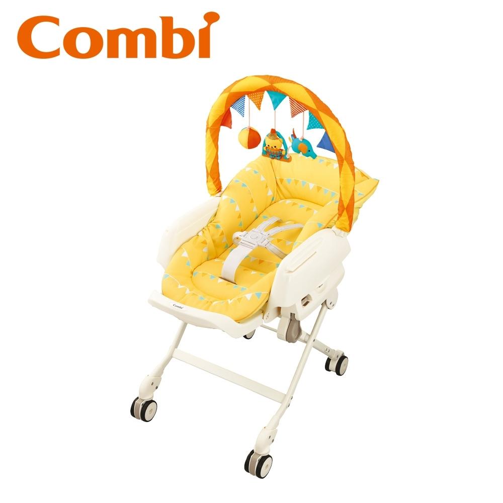 【Combi】Letto手動安撫餐椅搖床Joy