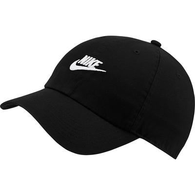 NIKE 帽子 棒球帽 遮陽帽 老帽 黑 913011010 U NSW H86 FUTURA WASH CAP