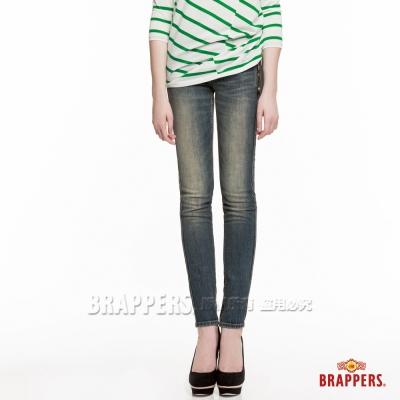 BRAPPERS 女款 新美腳Royal系列 彈性窄管褲-淺藍
