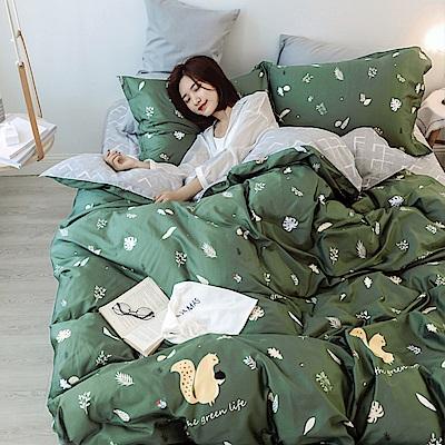 BUNNY LIFE 單人-小松鼠-小日子純棉床包被套組