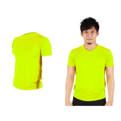 HODARLA 男女 FLARE 100 吸濕排汗衫 螢光黃